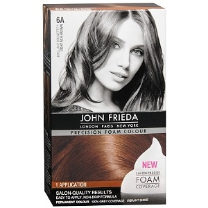 John Frieda Precision Foam Color Precision Foam Colour, Light Ash Brown 6A, 1 ea