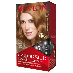 Revlon Colorsilk Beautiful Color, Lightest Golden Brown 57