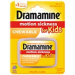 Dramamine Motion Sickness Relief for Kids, Grape- 8 ea