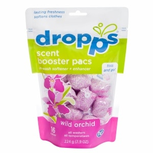 Dropps Fabric Softener Pacs, Wild Orchid- .49 oz