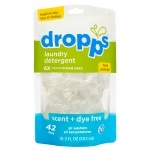 Dropps Laundry Detergent, 42-Load Pouch, Scent & Dye Free- 42 Each