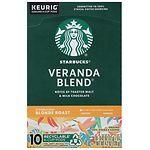 Starbucks K-Cups, Veranda Blend- 10 ea