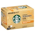 Starbucks K-Cups, Veranda Blend, 10 pk- .42 oz