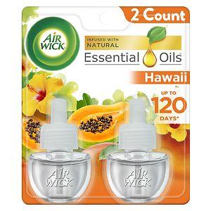 Air Wick Scented Oil Refills, Hawai'i Kaloko, Honokohau Tropical Sunset