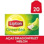 Lipton Green Tea Bags, Dragonfruit Melon