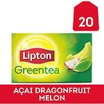 Lipton Green Tea, Dragonfruit Melon- 20 bags