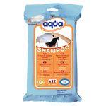 Cleanis Aqua Pre-Moistened Wash Glove, Shampoo