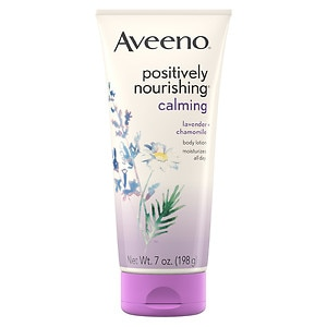 Aveeno Active Naturals Positively Nourishing Body Lotion, Calming Lavender + Chamomile&nbsp;