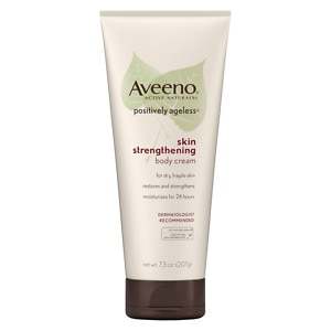 Aveeno Active Naturals Positively Ageless Skin Strengthening Body Cream- 7.3 oz