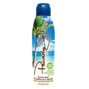 Panama Jack Continuous Clear Sunscreen Spray, SPF 30+