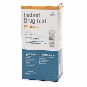 DrugConfirm Instant Multi Drug Test Kit, 12 Drugs (7 Illicit + 5 Prescription)- 1 kit