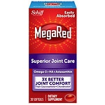 Schiff MegaRed Krill Oil Joint Care Dietary Supplement Softgels- 30 ea
