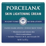 Porcelana Skin Lightening Night Cream- 3 oz
