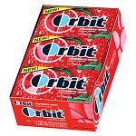 Orbit Sugar Free Gum, Strawberry Remix, 12 pk