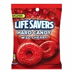 LifeSavers Candy, Individually Wrapped, Wild Cherry