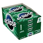 Eclipse Sugar Free Gum, Spearmint, 8 pk- 18 ea