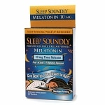 NutritionWorks Sleep Soundly Melatonin 10mg, Time Rease Tablets