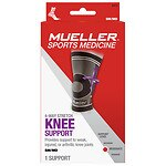 Mueller Sport Care 4-Way Stretch Knee Support, Moderate Support, Model 6413, Small/Medium- 1 ea
