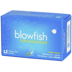 Blowfish for Hangovers Effervescent Tablets, 12 ea