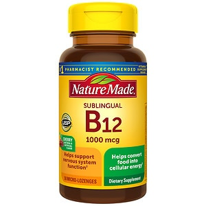 Nature Made Vitamin B-12 1000mcg, Sublingual Tabs