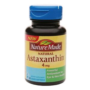 Nature Made Astaxanthin 4mg, Softgel- 60 ea
