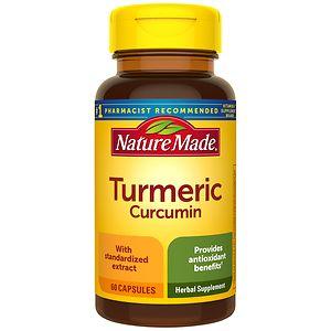 Nature Made Turmeric Curcumin, Capsules- 60 ea