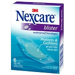 Nexcare Waterproof Blister Bandages, One Size- 6 ea