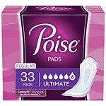 Poise Pads, Ultimate Coverage, Regular Length