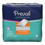 Prevail Super Absorbent Underpad, Extra Large