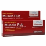 Walgreens Ultra Strength Muscle Rub- 4 oz