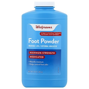 Walgreens Medicated Foot Powder- 10 oz