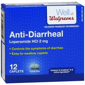 Walgreens Anti-Diarrheal, Capsules, 12 ea