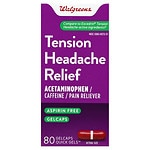 Walgreens Tension Headache Relief Gelcaps- 80 ea