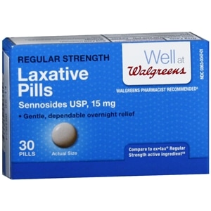 Walgreens unflavored laxative pills for Does fish oil cause constipation