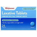 Walgreens Maximum Strength Laxative Pills- 24 ea