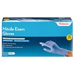 Walgreens Exam Glove Nitrile, Cobalt, One Size- 120 ea