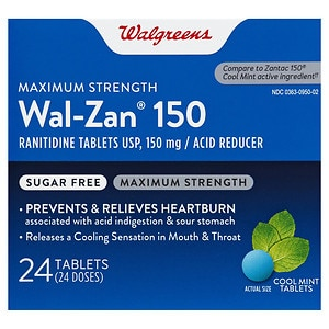 Walgreens Wal Zan 150Mg Cool Mint Tablets