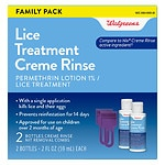 Walgreens Lice Treatment Creme Rinse- 40 fl oz