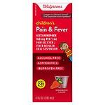 Walgreens Children's Pain & Fever Acetaminophen Oral Suspension