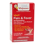 Walgreens Infants' Pain & Fever Acetaminophen Oral Suspension,