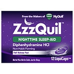 ZzzQuil Nighttime Sleep-Aid LiquiCaps- 12 ea