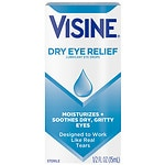 Visine Tears Lubricant Eye Drops- .5 fl oz
