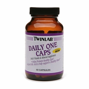 Twinlab Daily One Caps Multivitamin & Mineral, Capsules- 60 ea