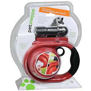 Pet Shoppe Retractable Pet Leash, 16 ft (40lbs), 1 ea