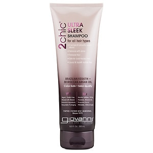 Giovanni 2chic Ultra-Sleek Shampoo Brazilian Keratin & Argan Oil