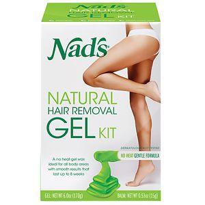 Nad's Gel Kit with Moisture+ Body Balm- 6 oz