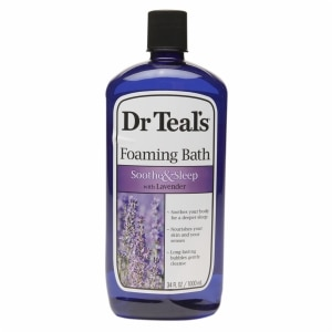 Dr. Teal's Foaming Bath, Soothe & Sleep with Lavender