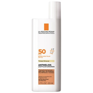 La Roche-Posay Anthelios 50 Face Mineral Tinted Sunscreen, SPF 50