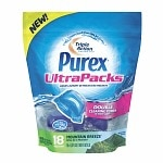 Purex UltraPacks Liquid Laundry Detergent, Mountain Breeze- 18 ea