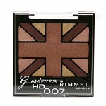 Rimmel Glam' Eyes HD Quad Eye Shadow Palette, Heart of Gold